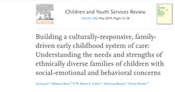 Building a culturally-responsive, family-driven early childhood system of care