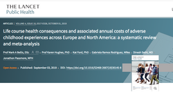 Life course health consequences and associated annual costs of adverse childhood experiences across