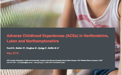 ACEs in Hertfordshire, Luton and Northamptonshire