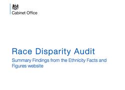 Race Disparity Audit