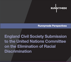 England Civil Society Submission to the United Nations Committee on the Elimination of Racial Discri