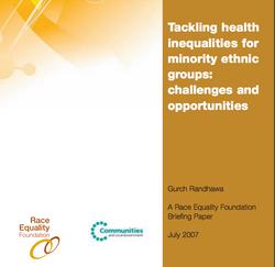 Tackling health inequalities for minority ethnic groups