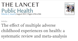 The effect of multiple adverse childhood experiences on health