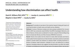 Understanding how discrimination can affect health
