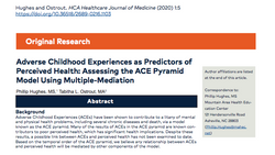Adverse Childhood Experiences as Predictors of Perceived Health