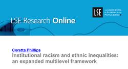 Institutional racism and ethnic inequalities