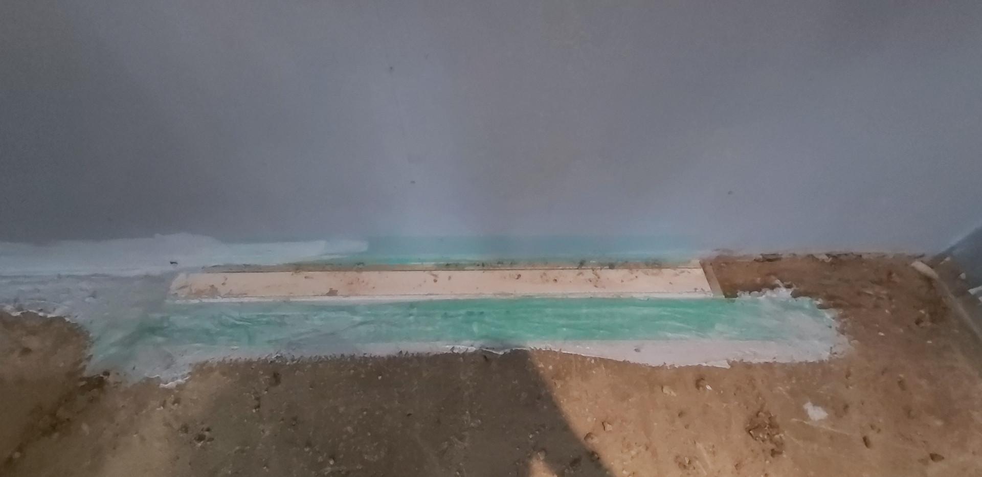 Seinaäärse trapi veekindlaks muutmine