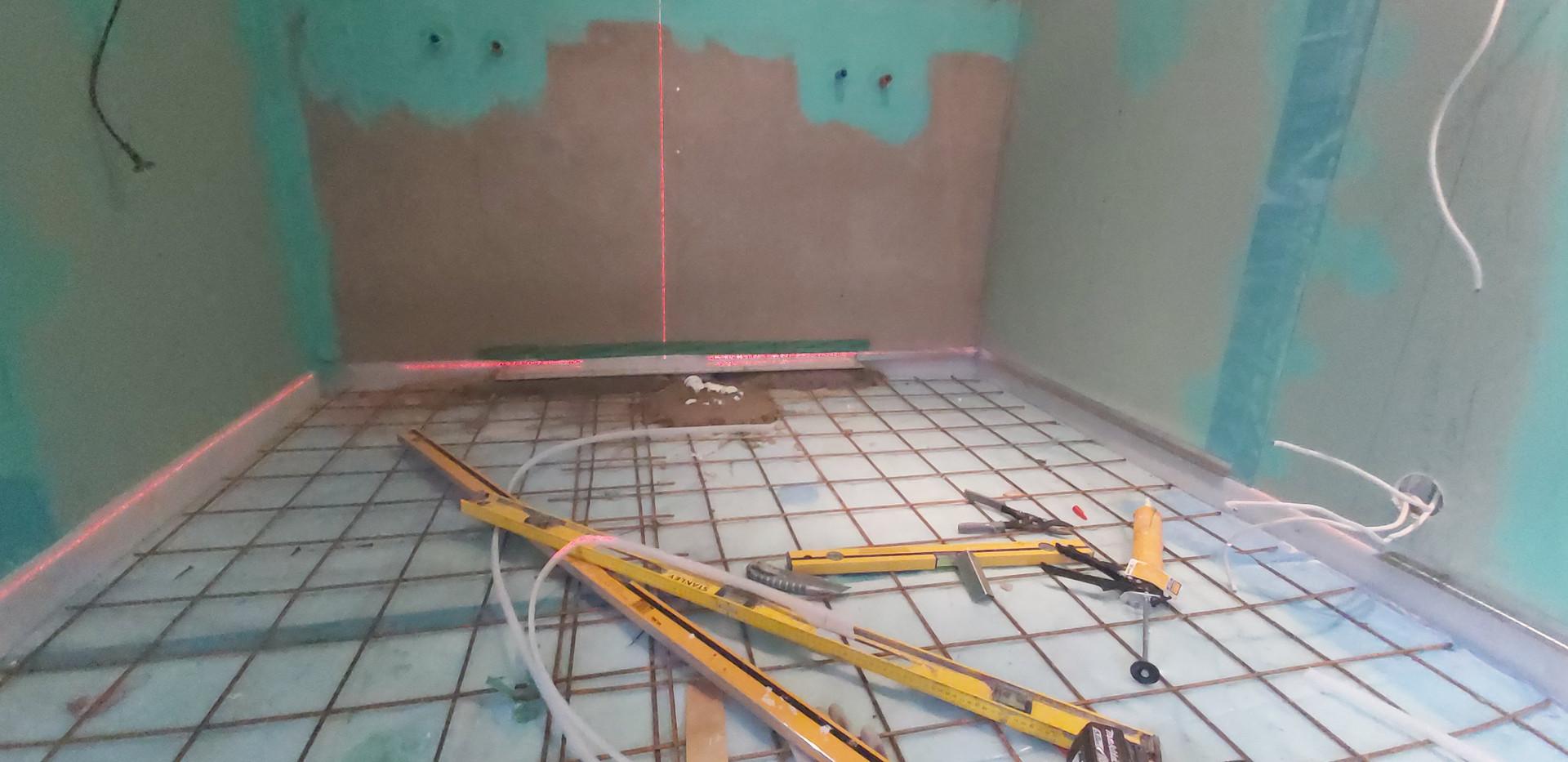 Valmistumine põranda valamiseks