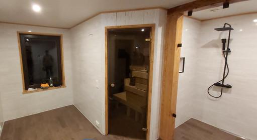 Pesuruumist sauna