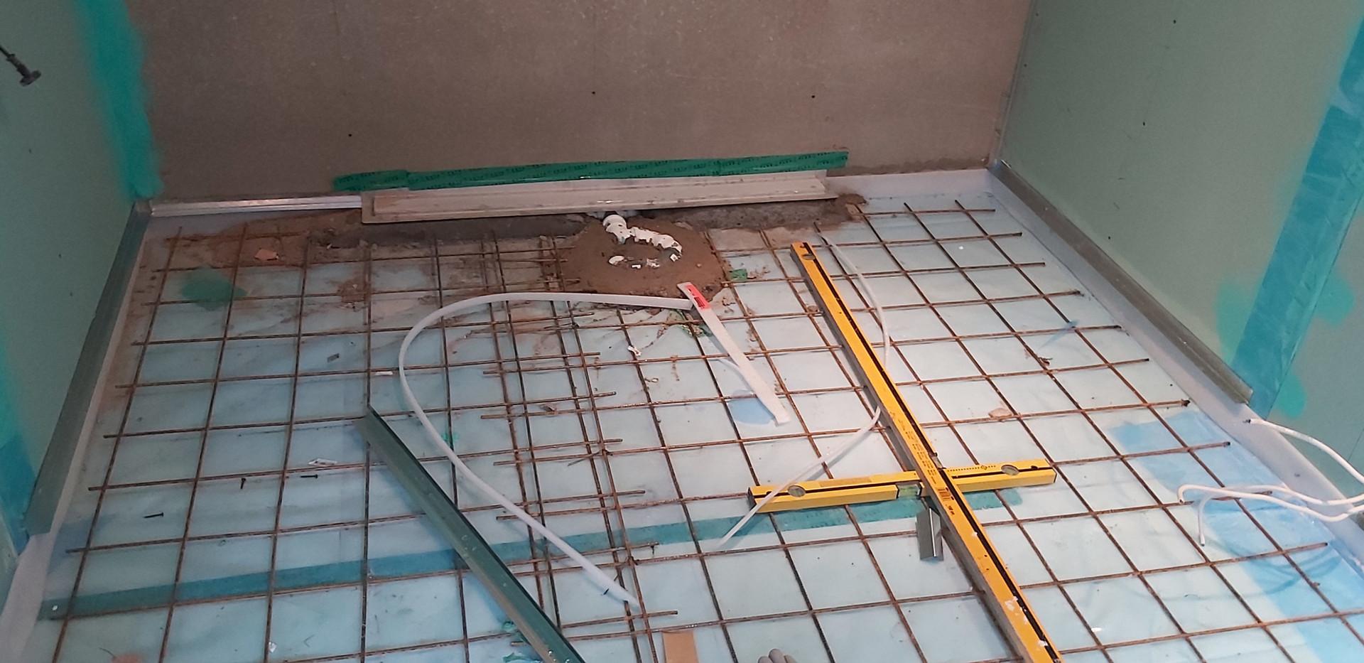 Põrandavalu ettevalmistus