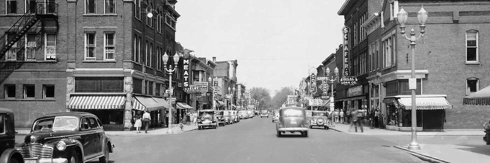 SECOND STREET, LOOKING NORTH, DECATUR, I