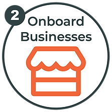 Onboard Businesses