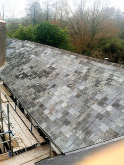 Listed Natural slate roofing
