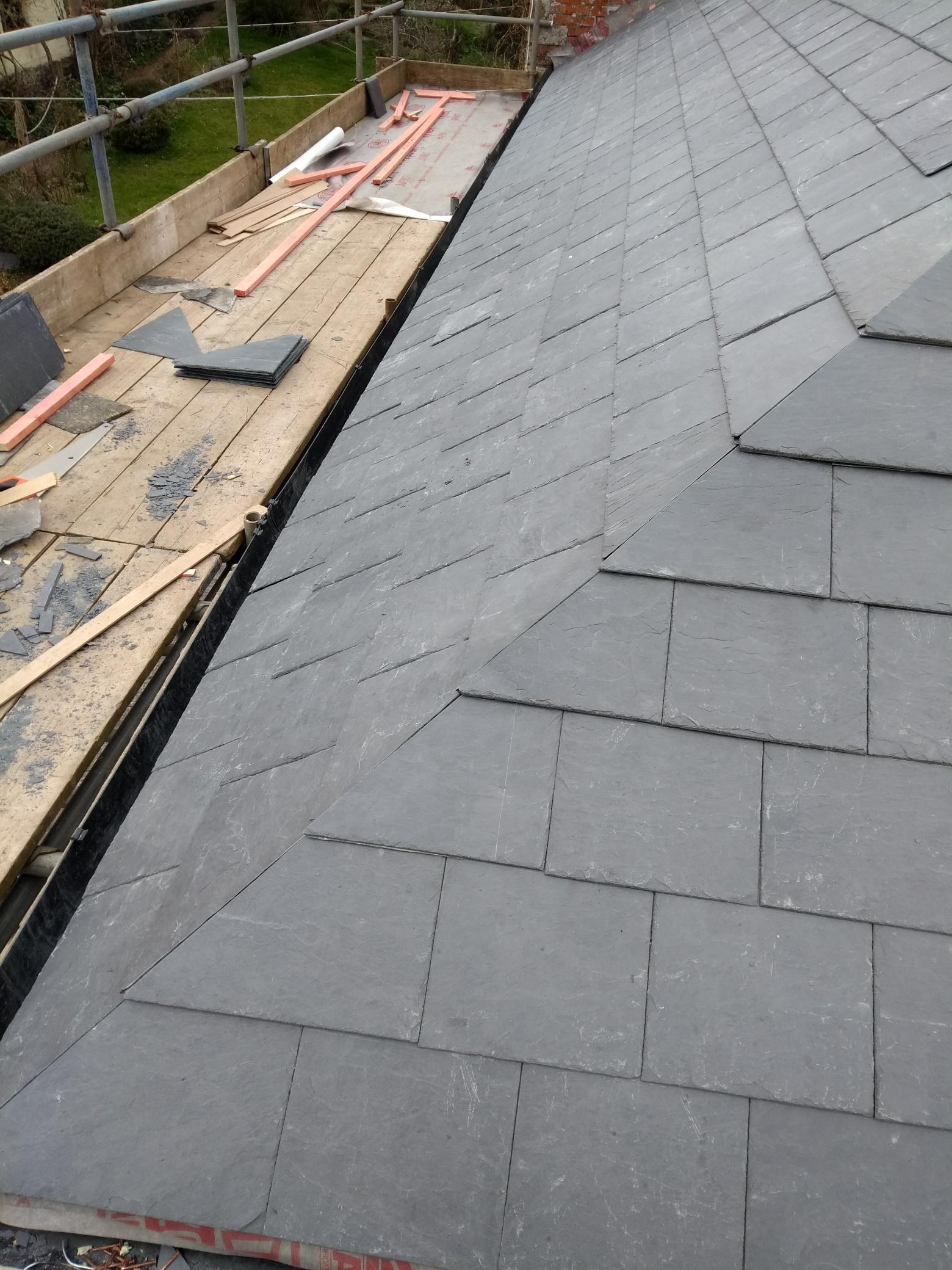 Mitred hip s s roofing specialists
