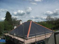 Residential cement fibre slates