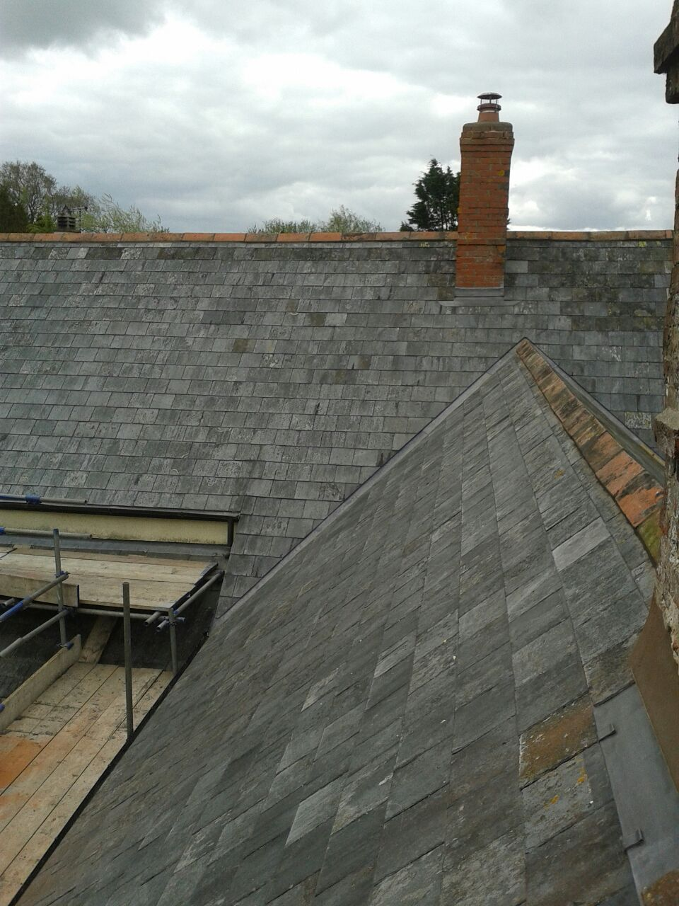 Reclaimed welsh slates Tiverton