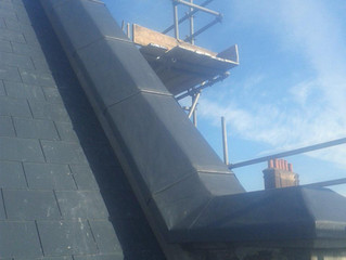 HOW TO FIT NEW LEAD ROOF
