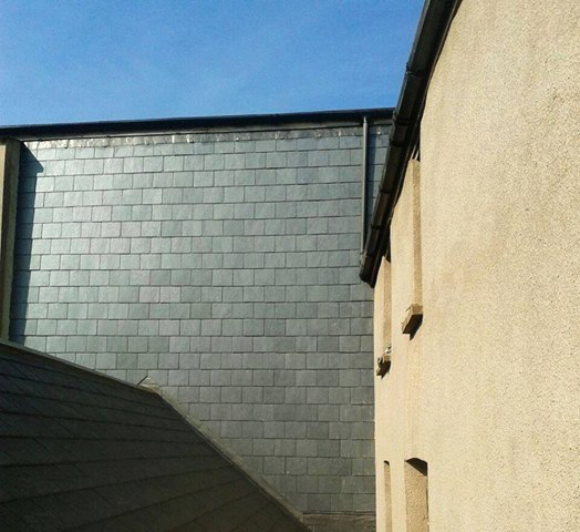Vertical slating tiverton devon