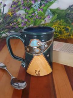 Cat Abduction Mug