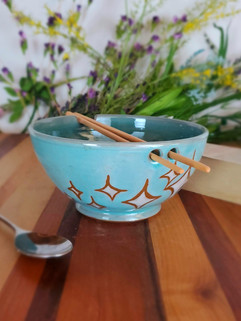 Starburst Chopstick Bowl