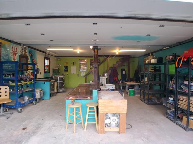Mudbug's studio