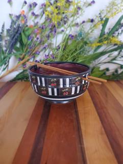 Cherry Chopstick Bowl