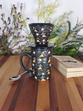 Alien Abduction Mug and Coffee Drip