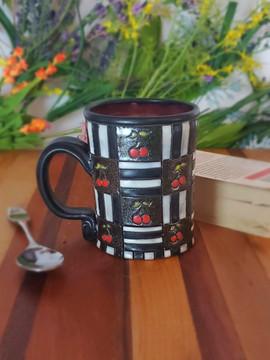 Retro Cherry Mug