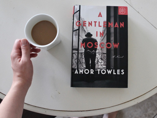 A GENTLEMAN IN MOSCOW by Amor Towels