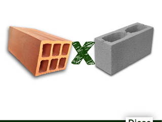 Tijolo ou bloco, como escolher?