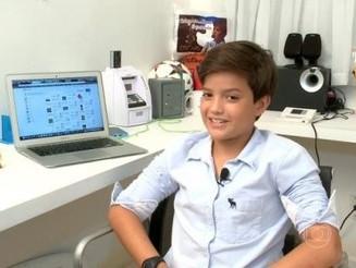 Garoto de 14 anos cria aplicativo e fatura R$ 100 mil por mês