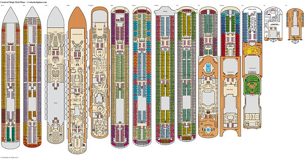 cruisedeckplans-deckplan-Carnival-Magic.