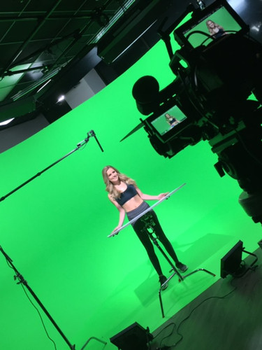 Chelsea Gilson Behind the Scenes