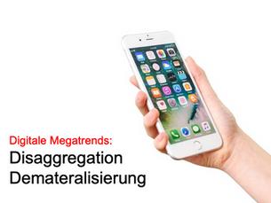 Disaggregation & Demateralisierung: Wie Bitcoin, Scout24, Spotify & Co. die Welt verändern