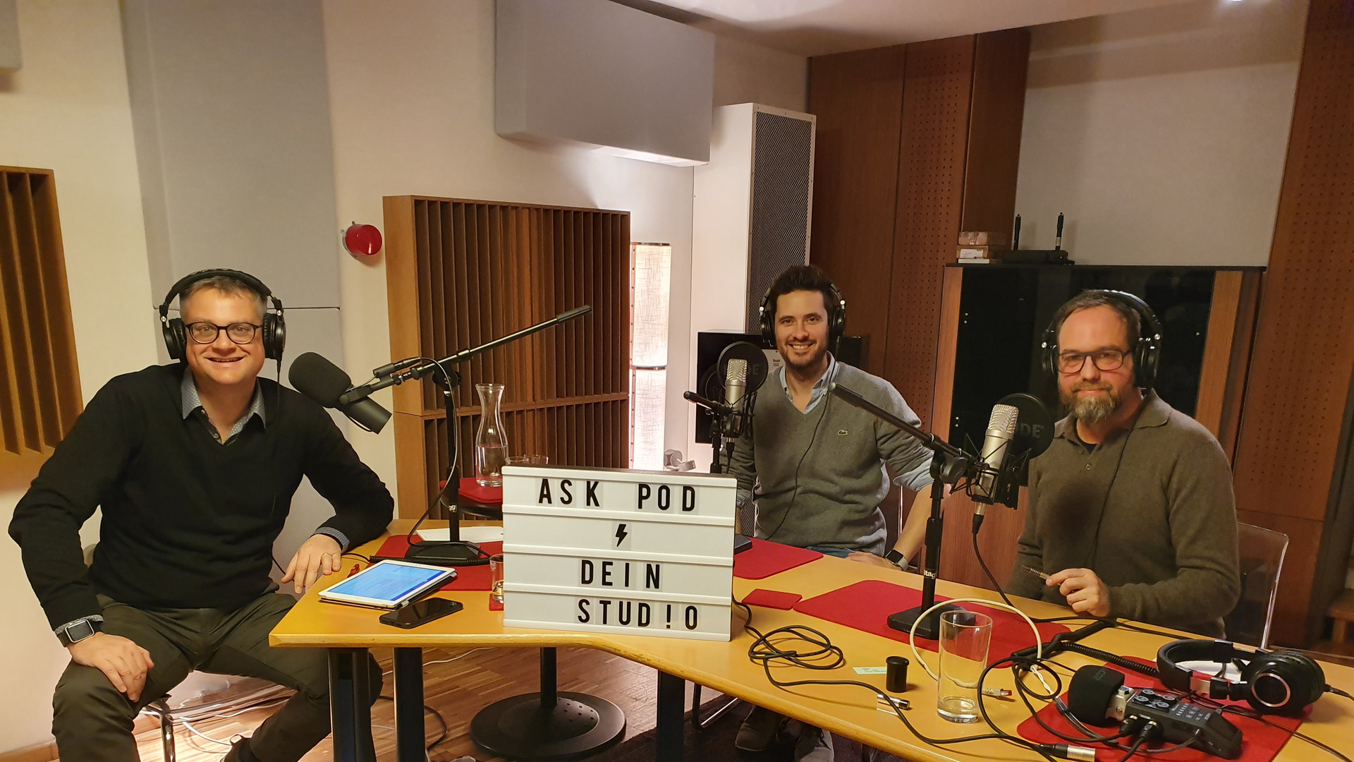Podcast mit David Heberling und Matthias Sziedat