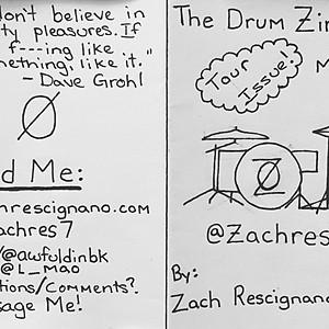 Drum Zine #3 - Tour Issue
