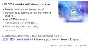 5 SEO Strategies for Ranking Higher in 2020