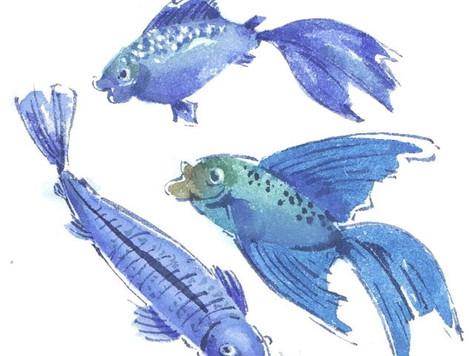 Homeschooling - Aquarell - Tiere 2