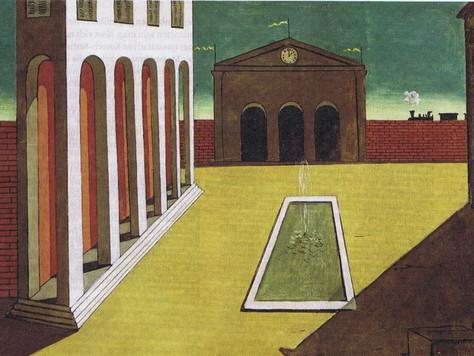 Homeschooling – auf den Spuren von Giorgio de Chirico