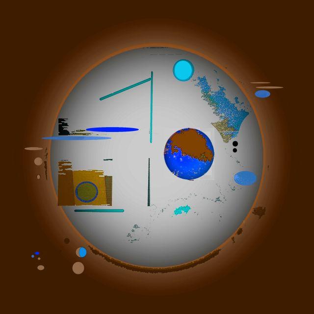 mit vielen Planeten Umkehr