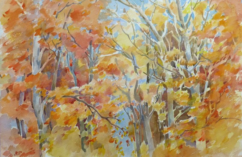1801 Herbst am Uetliberg