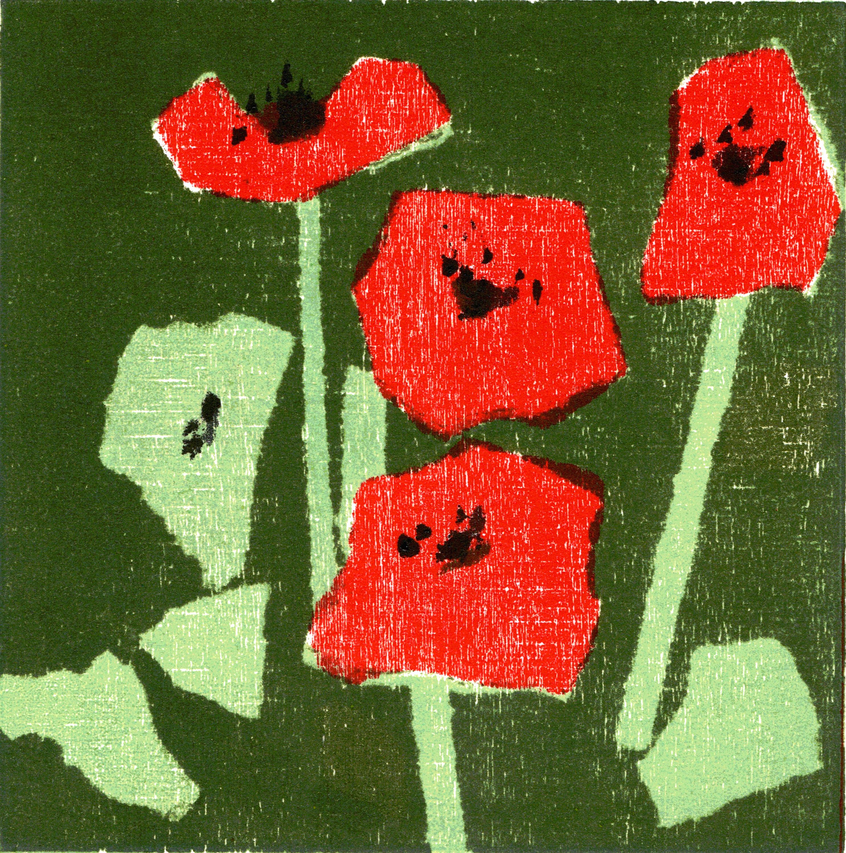 Nr.139  flowers 15 cm x 15 cm
