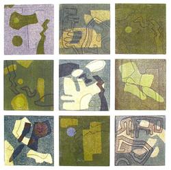 Collage 50 x 50 cm