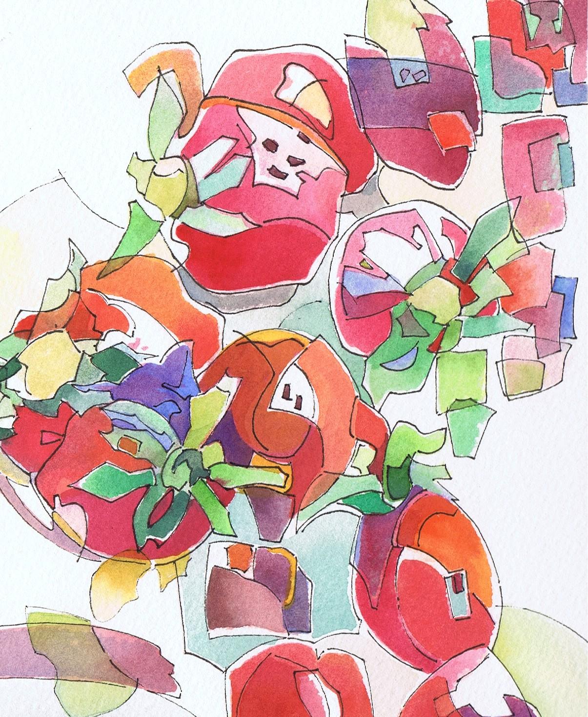 Studie Erdbeeren