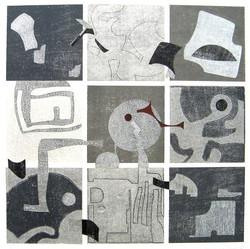 Nr.11 Collage in Grautönen