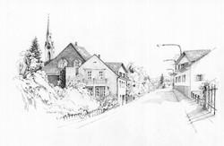 Obfelden Dorfstrasse 1989