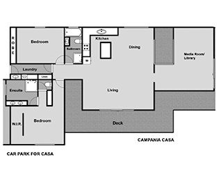 Campania Casa Floorplan Layout