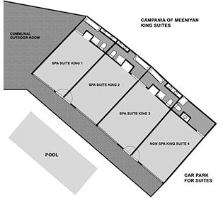 Campania Suites Room Layouts