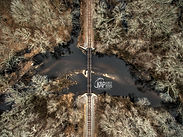 Kurtz Aerial Photography Bird's Eye Railroad bridge