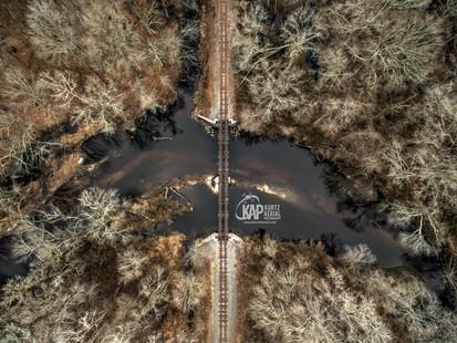 Birds eye railroad